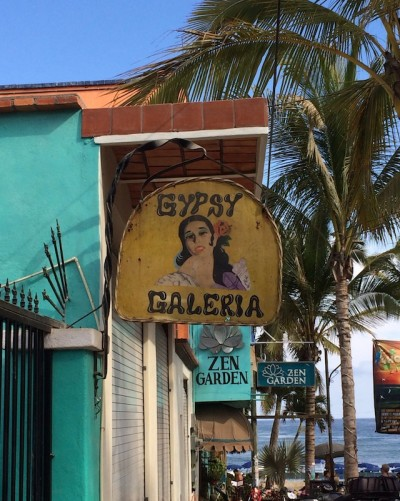 Gypsy Galeria Store Sign
