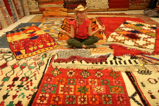 Gorgeous Berber Rugs From Palais Saadiens   Gypsetgirl Gypset Girl Explores  The Travel, Fashion, Lifestyle And Wanderlust Of The Bohemian Jet Set