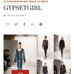 GYPSETGIRL Featured in British Vogue